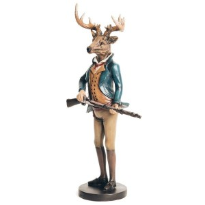 Edward Deer Figurine