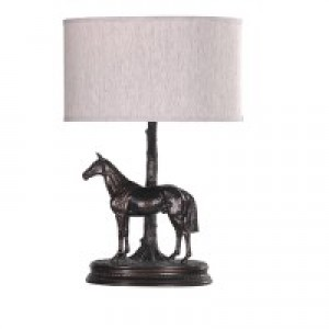 Horse and Tree Lamp