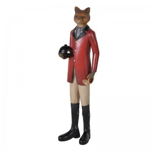 """Tally Ho"" Dressed Fox"