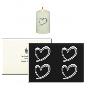 Heart Candle Pins