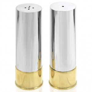 Cartridge Salt and Pepper Shakers