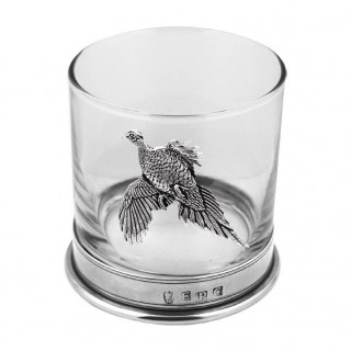 Pheasant Single Whisky Glass