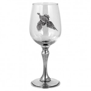 Pheasant Single Wine Glass 350ml