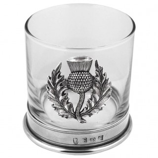 Thistle Single Whisky Glass