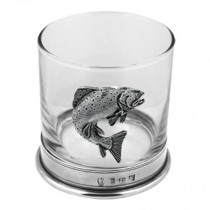 Trout Single Whisky Glass
