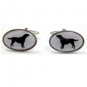 Black Labrador Cufflinks