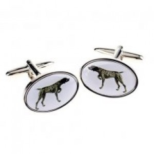 German Short Haired Pointer Cufflinks
