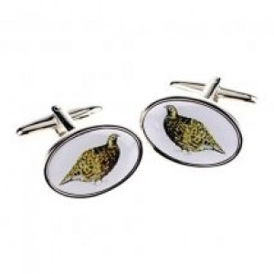 Grouse Cufflinks