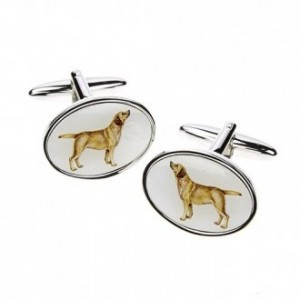 Golden Labrador Cufflinks