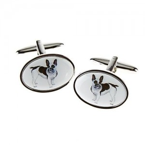 French Bull Dog Cufflinks