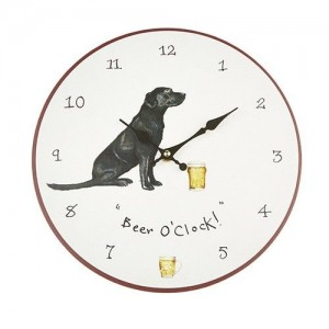 "Wall Clock ""Beer O'Clock"""