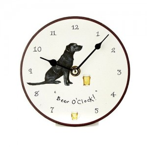 "Desktop Clock ""Beer O'Clock"""