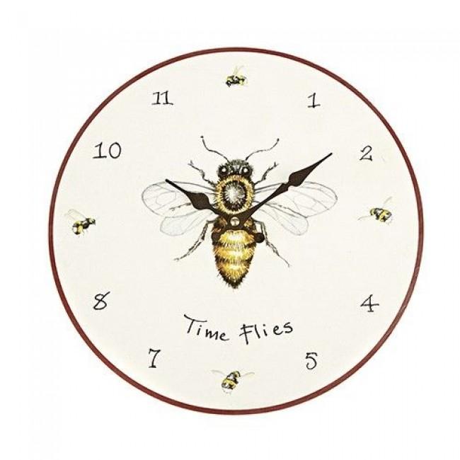 Wall Clock Quot Time Flies Quot