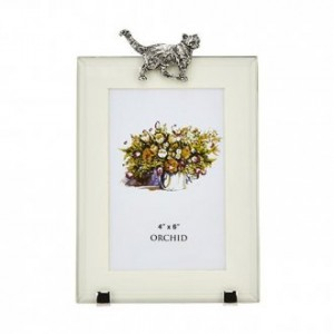 Cat Photo Frame Large