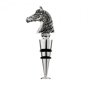 Horse Head Metal Bottle Stopper