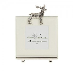 Standing Stag Photo Frame Small
