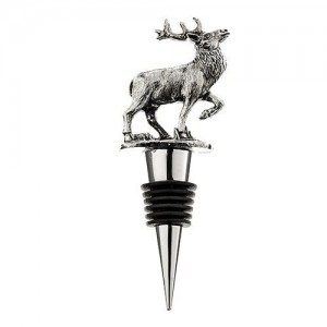Stag Metal Bottle Stopper