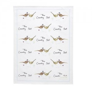 "Tea Towel ""The Country Set"""