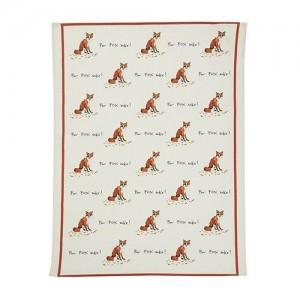"Tea Towel ""For Fox Sake"""