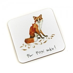 "Coaster  ""For Fox Sake"""