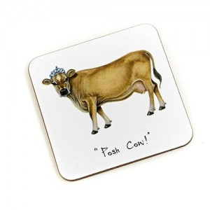 "Coaster ""Posh Cow"""