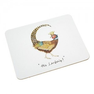 "Place Mat  ""His Lordship"""