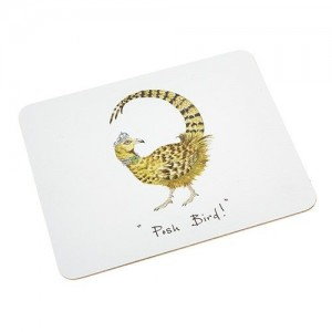 "Place Mat  ""Posh Bird"""