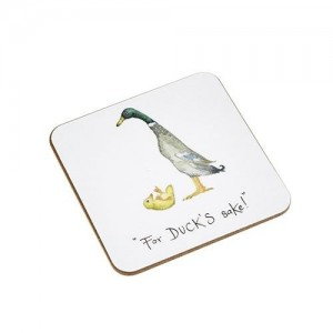 "Coaster  ""For Ducks Sake"""