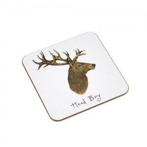 "Coaster Stag ""Head Boy"""