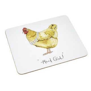 "Placemat Pheasant ""Head Girl"""