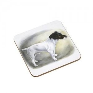 Coaster Jack Russell Dog