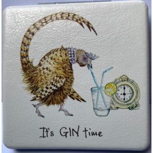 "Compact Mirror ""Its Gin Time"""