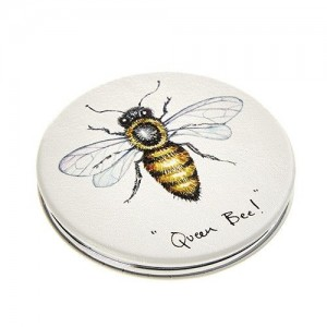"Compact Mirror ""Queen Bee"""