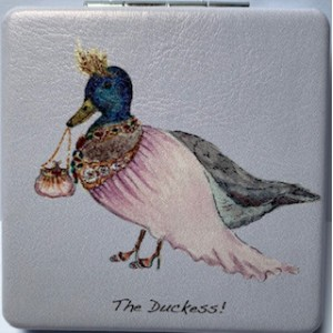 "Compact Mirror ""The Duckess"""