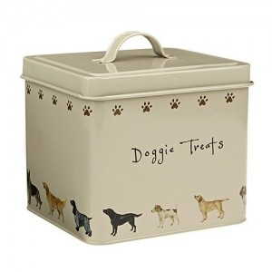Doggie Treats Storage Tin