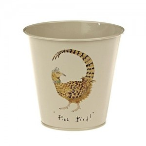 "Plant Pot ""Posh Bird"""