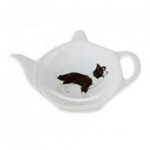 Border Collie Tea Bag Holder