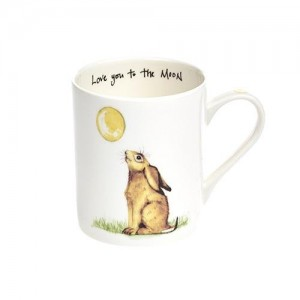 "Hare Fine Bone China Mug ""Love You To The Moon and Back"""