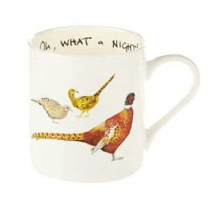 """Oh What a Night""  Fine Bone China Mug"