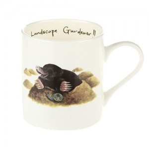 "Fine Bone China Mugs ""Landscape Gardener"""
