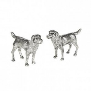 Labrador Pewter Salt & Pepper